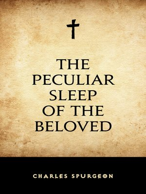cover image of The Peculiar Sleep of the Beloved
