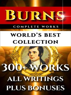 cover image of Robert Burns Complete Works – World's Best Collection