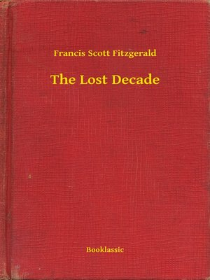 cover image of The Lost Decade