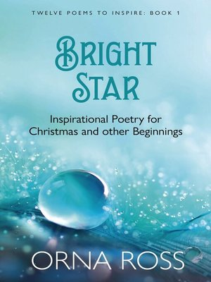 cover image of Poetry For Christmas and other Beginnings
