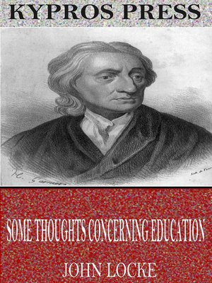 cover image of Some Thoughts Concerning Education