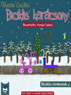 cover image of Biciklis karácsony