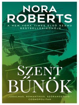 cover image of Szent bűnök