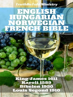 cover image of English Hungarian Norwegian French Bible No2