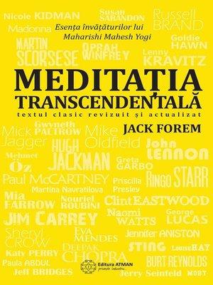 cover image of Meditația transcedentală. Textul clasic revizuit și actualizat