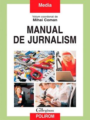 cover image of Manual de jurnalism