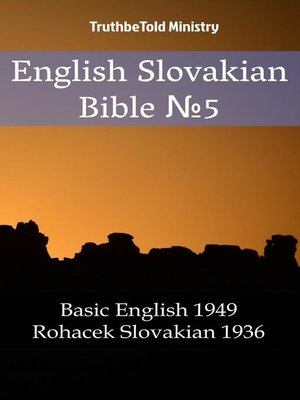 cover image of English Slovakian Bible №5