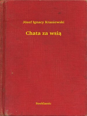 cover image of Chata za wsią