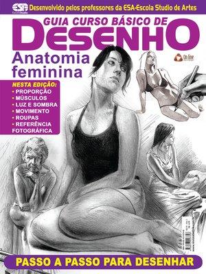 cover image of Guia Curso Básico de Desenho--Anatomia Feminina