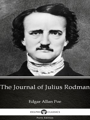cover image of The Journal of Julius Rodman by Edgar Allan Poe