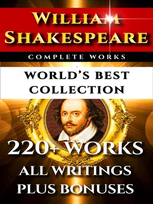 cover image of William Shakespeare Complete Works – World's Best Collection