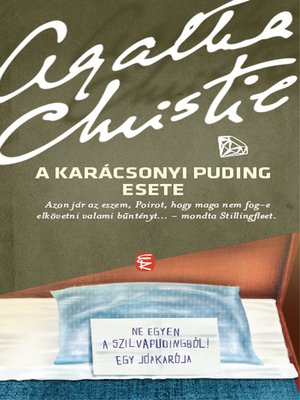 cover image of A karácsonyi puding esete