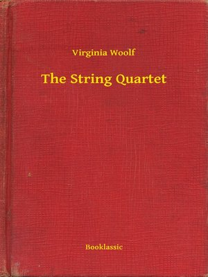 cover image of The String Quartet
