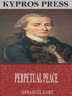 cover image of Perpetual Peace