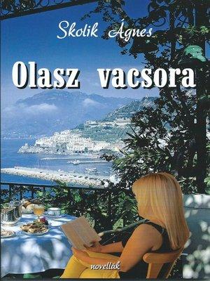 cover image of Olasz vacsora