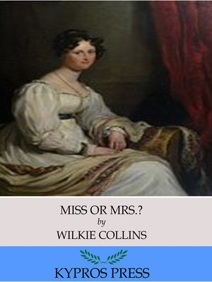 cover image of Miss or Mrs.?