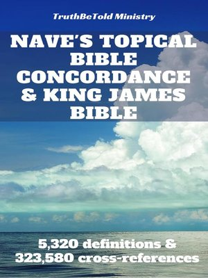 cover image of Nave's Topical Bible Concordance and King James Bible
