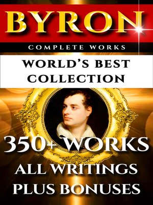 cover image of Lord Byron Complete Works – World's Best Collection
