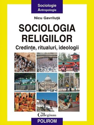 cover image of Sociologia religiilor