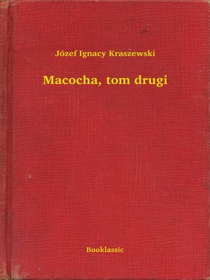 cover image of Macocha, tom drugi