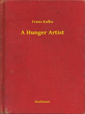 cover image of A Hunger Artist