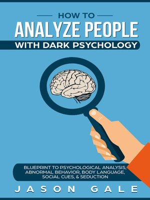 cover image of How to Analyze People With Dark Psychology