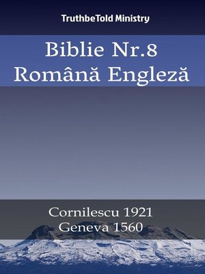 cover image of Biblie Nr.8 Română Engleză