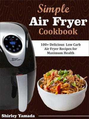 cover image of Simple Air Fryer Cookbook