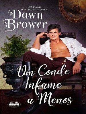 cover image of Um Conde Infame a Menos