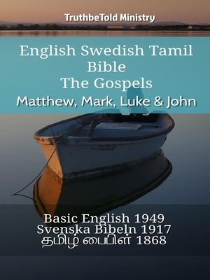 cover image of English Swedish Tamil Bible--The Gospels--Matthew, Mark, Luke & John