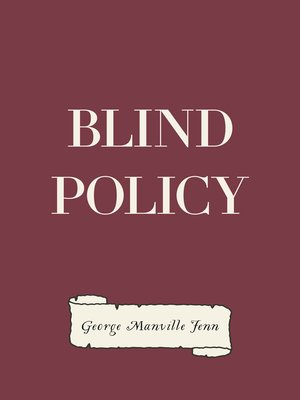 cover image of Blind Policy