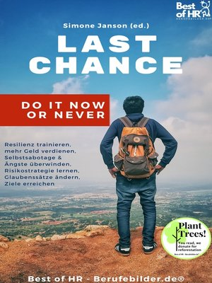 cover image of Last Chance! Do it Now or Never