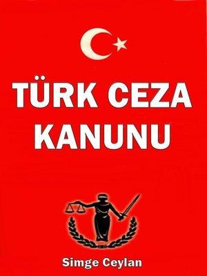 cover image of Türk Ceza Kanunu