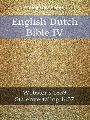 cover image of English Dutch Bible IV