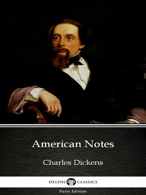 cover image of American Notes by Charles Dickens