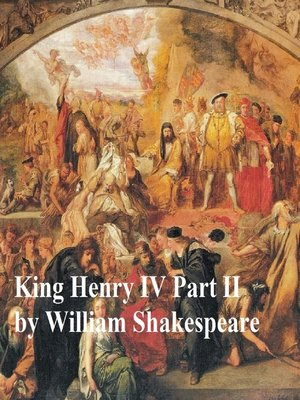 cover image of King Henry IV Part 2, with line numbers