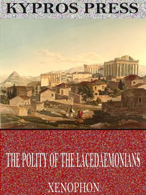 cover image of The Polity of the Lacedaemonians