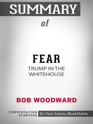 cover image of Summary of Fear