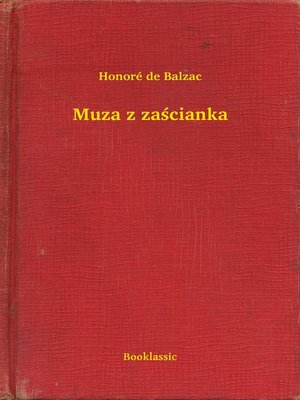 cover image of Muza z zaścianka