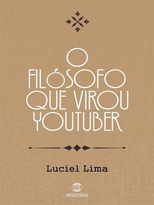 cover image of O filósofo que virou youtuber