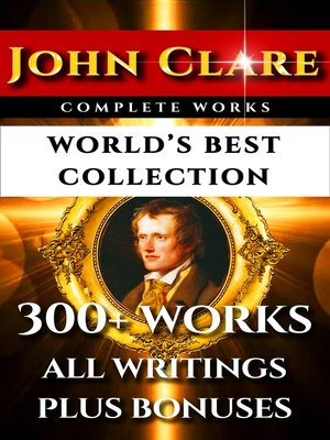 cover image of John Clare Complete Works – World's Best Collection