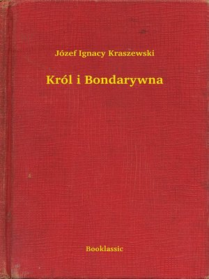 cover image of Król i Bondarywna