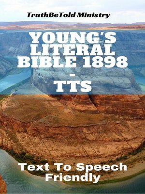 cover image of Young's Literal Bible 1898 - TTS