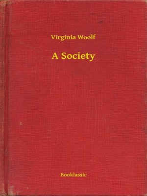 cover image of A Society