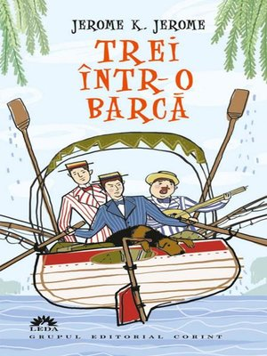 cover image of Trei într-o barcă