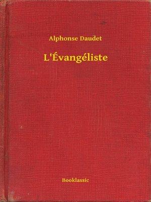 cover image of L'Évangéliste