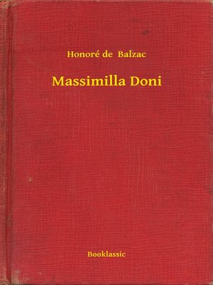 cover image of Massimilla Doni