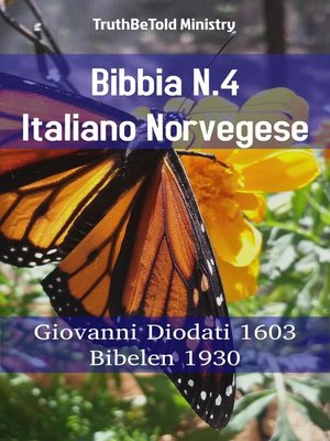 cover image of Bibbia N.4 Italiano Norvegese