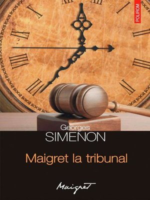 cover image of Maigret la tribunal