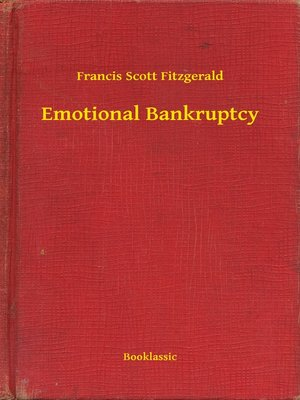 cover image of Emotional Bankruptcy
